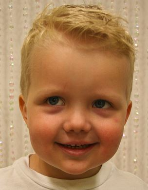 Little Boys Haircuts Pictures Of Handsome Boy With His Cool Short Blonde Hair Jpg