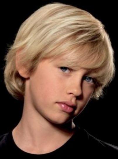 Boys Blonde Long Hairstyles With Long Bangs Jpg