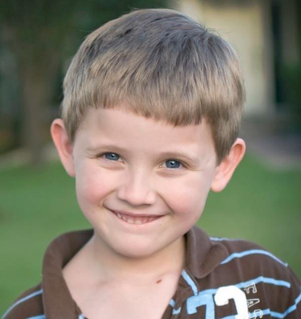 Simple little boy haircut photo.JPG