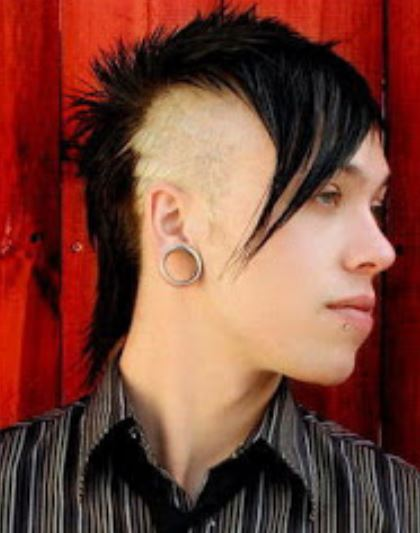 Black punkish hairsytles with undercuts and long hawk with long layered bangs.JPG