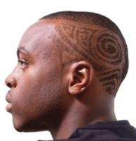 African American hairstyle with cool  hair patterns.JPG