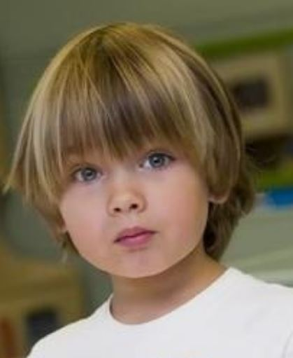 Little Boy Long Haircuts Photos Jpg