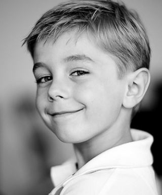 classic hairstyles for little boy with layers and long