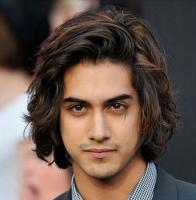 Sexy Latino men hairstyles with medium long hairstyle with waves and layers.JPG