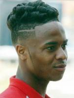 Black men undercut hairstyle with wavy curly hair on top.JPG