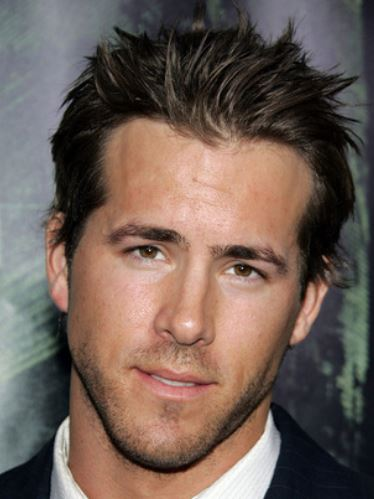 Sexiest Man Alive Pictures Of Ryan Reynolds With His Medium Short Haircut With Spiky Bang Jpg