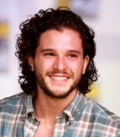 Sexy English actor Kit Harington with his light curly hairstyle.JPG