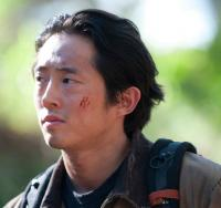 Steven Yeun movies picture of The Walking Dead.JPG