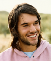 Sexy men hairstyle with medium long haircut with side bangs.PNG