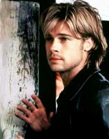 Brat Pitt with Medium Hair Style