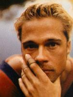 Brat Pitt with Very short Hair Style