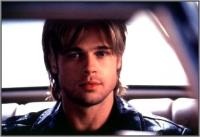 Brat Pitt, Long Layered Hair Style with Bangs
