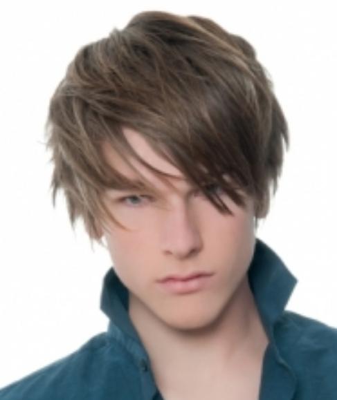 ... teen boys haircuts w/ layers + long layered bangs hot teens hairstyles