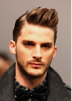 Chic men hairstyle with spiky swept bangstanding upbright.PNG