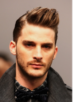 Chic men hairstyle with spiky swept bang.PNG