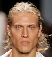 Blonde man hairstyle with hair pulled back.PNG