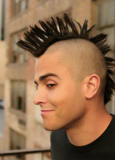 Popular young men hairstyles young men punk hairstyles