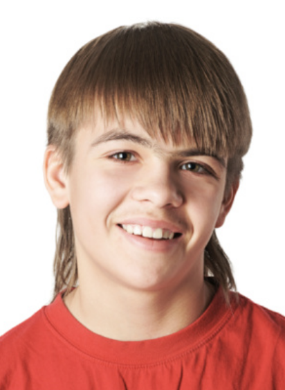 Asian mullet hairstyle