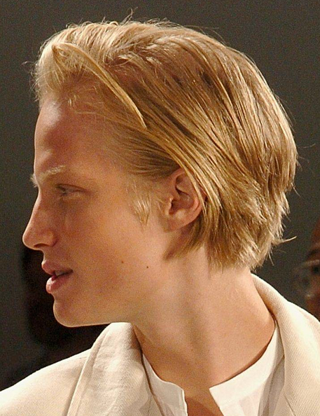Classic Men Medium Haircuts With Short Length Hair And Very Long
