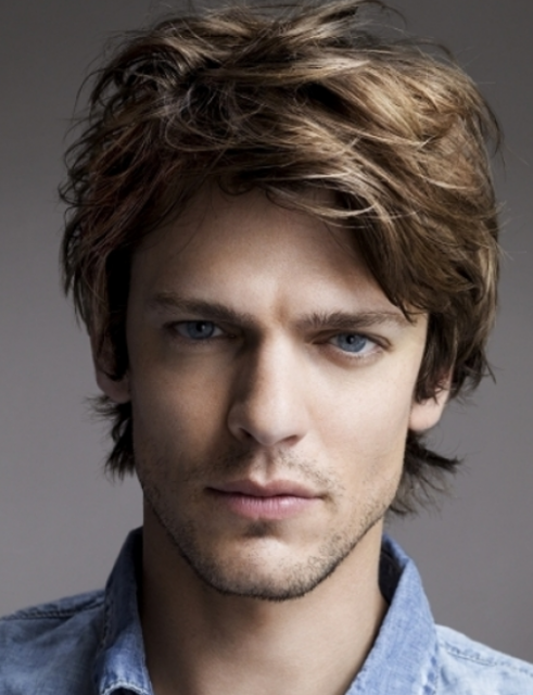 2013 Men Professional Hairstyle With Layers And Long Side