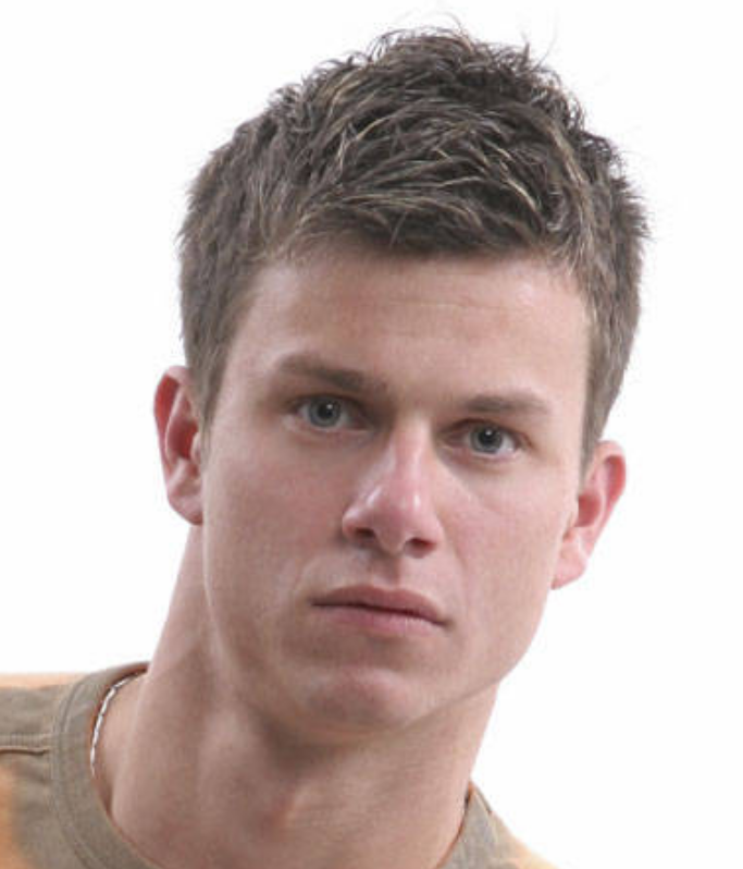 Hot men hairstyle with layered top with very short on the sides.PNG