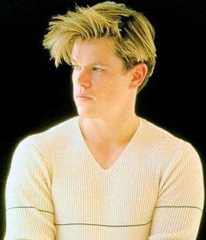 Matt Damon Medium Wavy Hair Style With Bangs 1 Comment