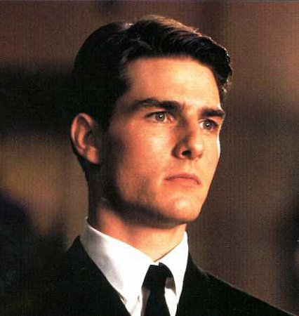 Tom Cruise, Formal Short Hair Style with Gel