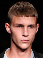 Chic model men hairstyle in very short length haircut.PNG