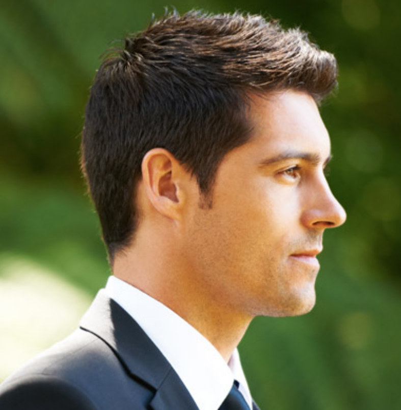 Groom hairstyles pictures in short length hair.PNG