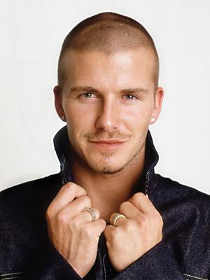 David Beckham Bald