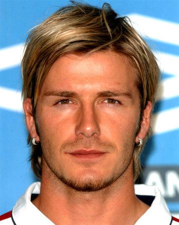 david beckham hairstyles blonde. londe medium hairstyle.