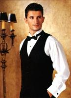 Image of Tuxedo hairstyle in short length with brunette