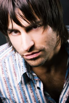 Men Medium Hairstyle With Long Bangs Jpg 1 Comment