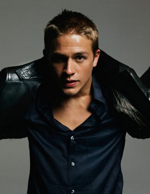 Hot Actors Wallpaper Pictures Of Charlie Hunnam With His Very Short Haircut With Spiky Top