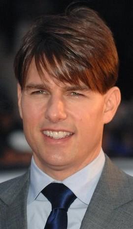 Tom Cruise Short Hairstyle With Long Bangs Jpg