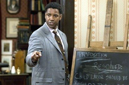Denzel Washington in Great Debaters movie.jpg