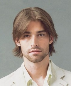Young Men Hair Style Men Medium Shaggy Hairstyle With Long