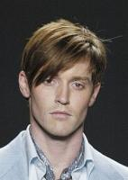 trendy men hairstyle with sexy long side bangs with layers pictures_great fashion look