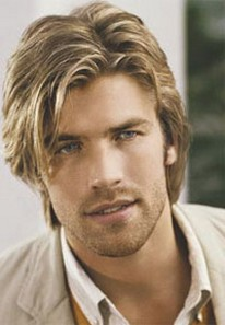 sexy hairstyles men : Image of Men sexy hairstyle with men wavy hairstyle