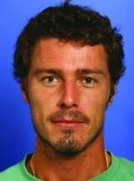 Marat Safin with short wavy hair