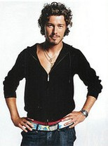 sexy Marat Safin with medium long curly hair