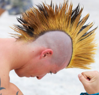 Men Punk Hairstyles Gallery