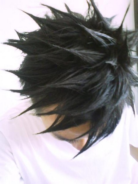 Asian punk hairtyle for Asian men with cool spiky haircut.jpg