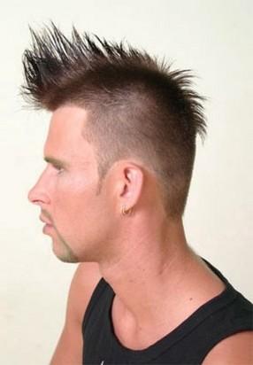 Hairstyle: Punk Short