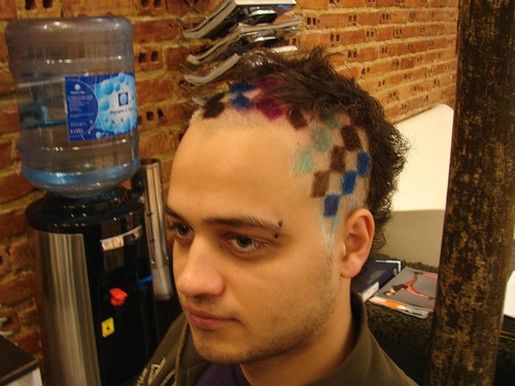 Young Men Hair Styles: Cool Colorful Hairstyle For Young Men.jpg (3 Comments