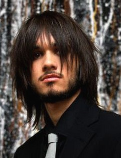 Long Hair Cuts   on Long Trendy Hairstyle For Men Jpg