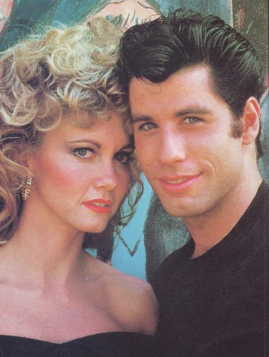 olivia newton john grease. Olivia Newton-John and John