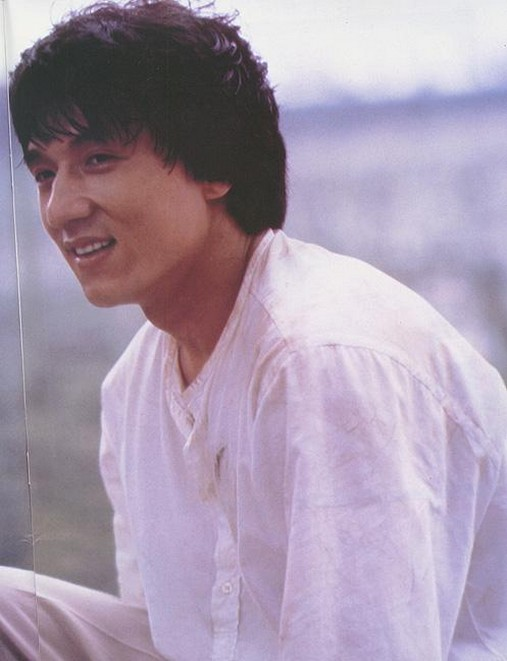 Jackie Chan With Medium Hairstyle With Long Bang Jpg