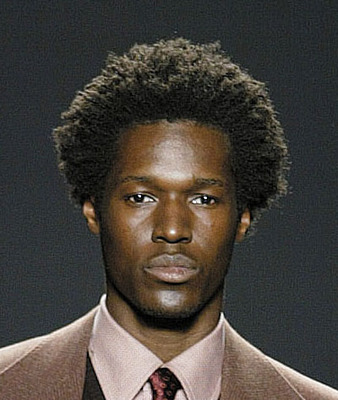 Black Man Natural Hair Style, black