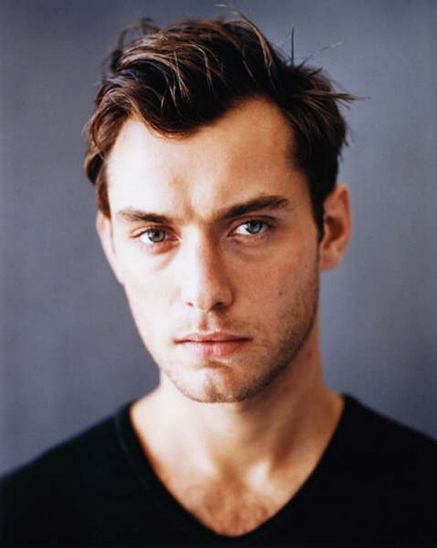 Photograph of actor Jude Law post